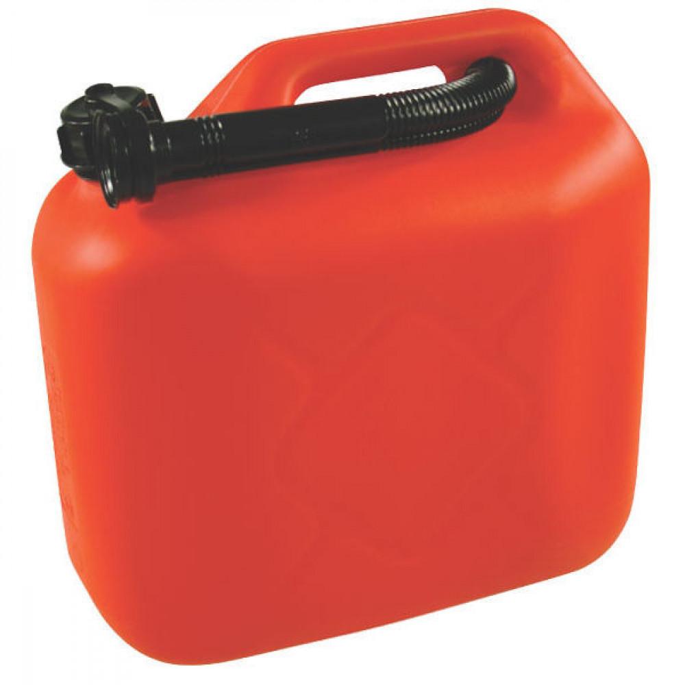 JAGTENBERG Jerrycan 10L rood - JK8310R | 0,67 kg | 10 l | Kunststof