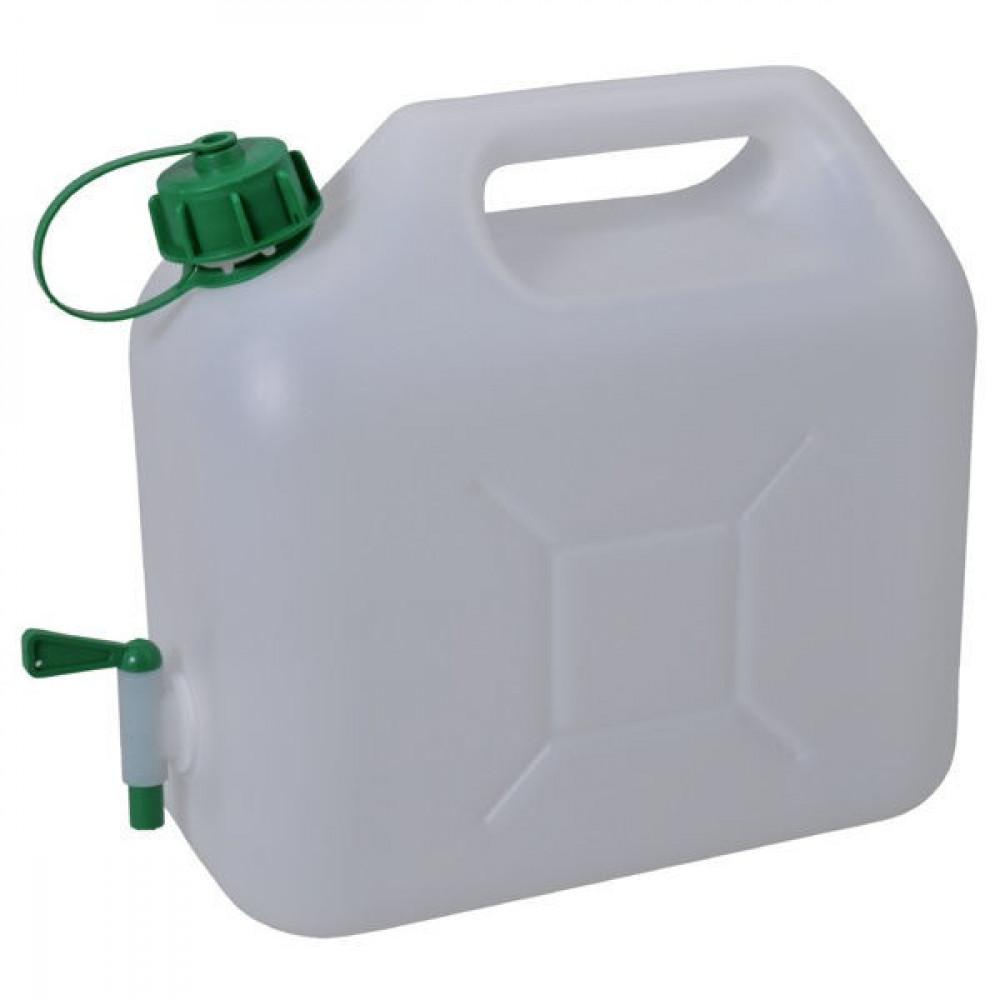 JAGTENBERG Water Jerrycan 5L - JK8505 | 0,252 kg | 5 l | transparant | 276 mm | 366 mm | 146 mm