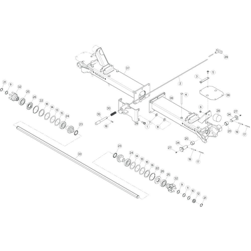 Digidrive Kuhn - K8800860 | Aant.2 | B 0001 > B 0032