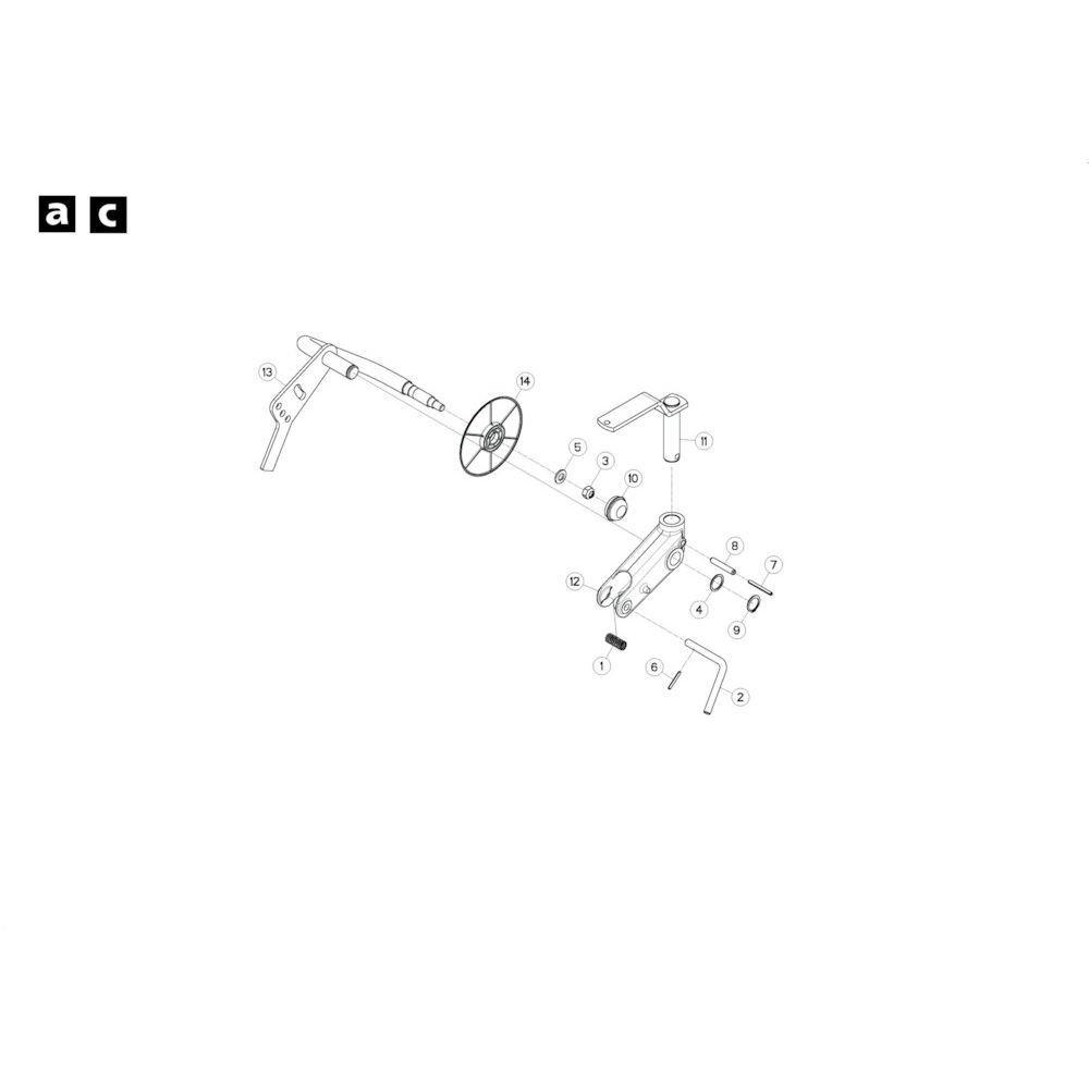 Kuhn Antiwikkelkap - K8807350 | Aant.1 | B 0001 > B 0680