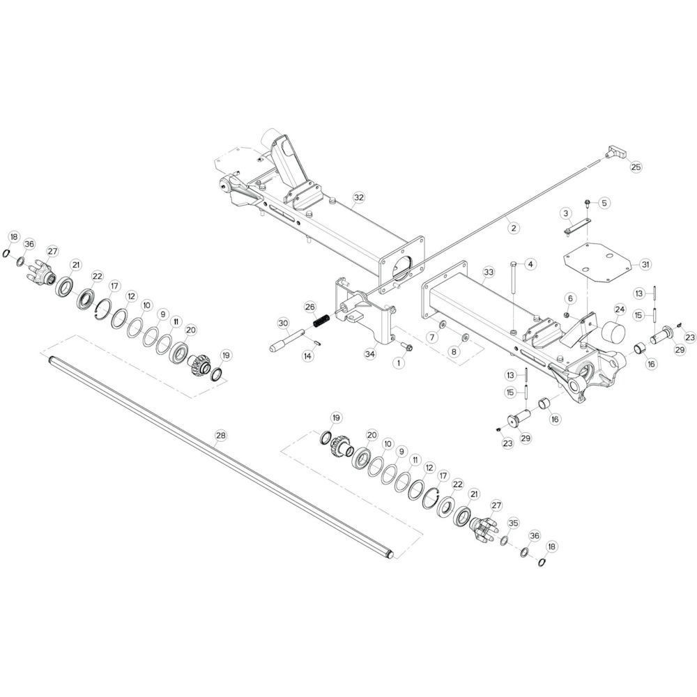 Kuhn Platte sluitring - K8809940   Aant.1   B 0033 > B 0680
