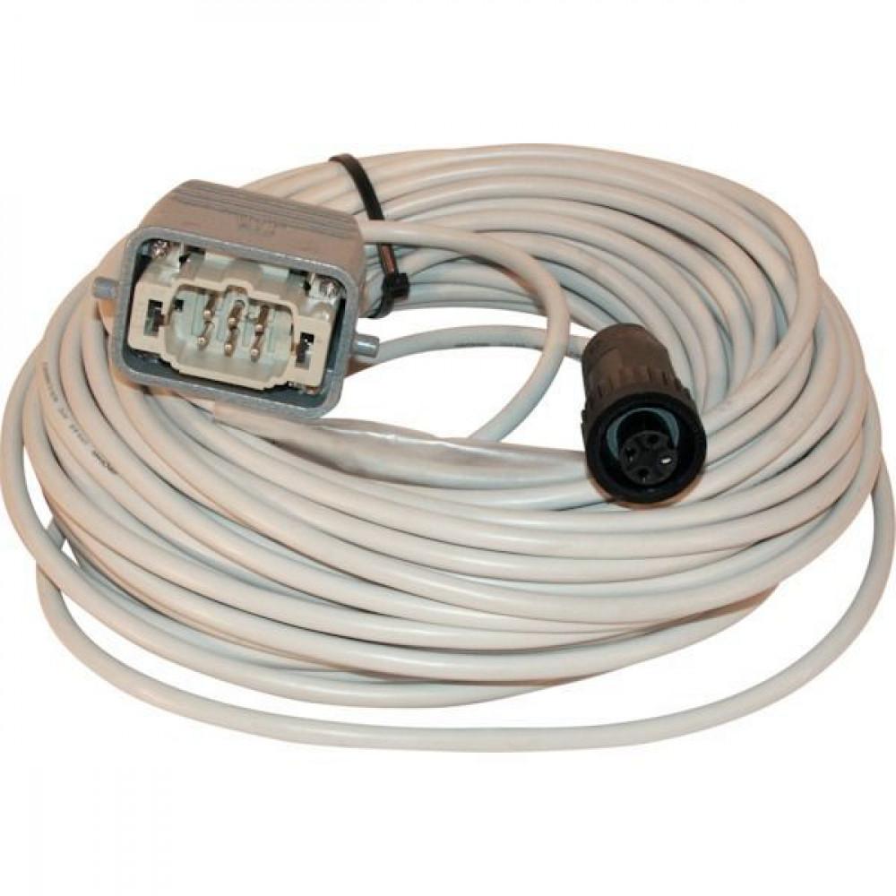 Kabelset 25 m wagenzijde + HTS stekker - CAS813725 | 25,0 m