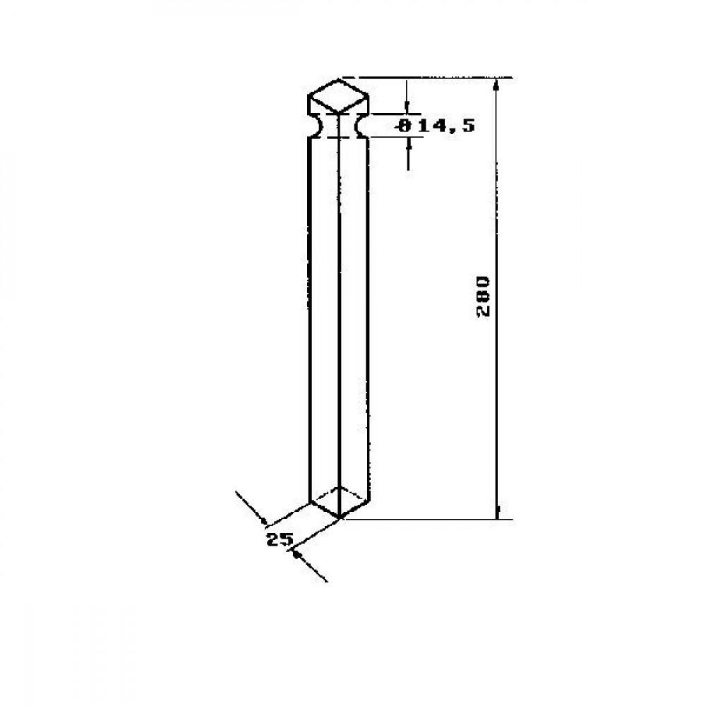 Rotoregtand Krone - KE0608 | 514.486.1 | 270 mm