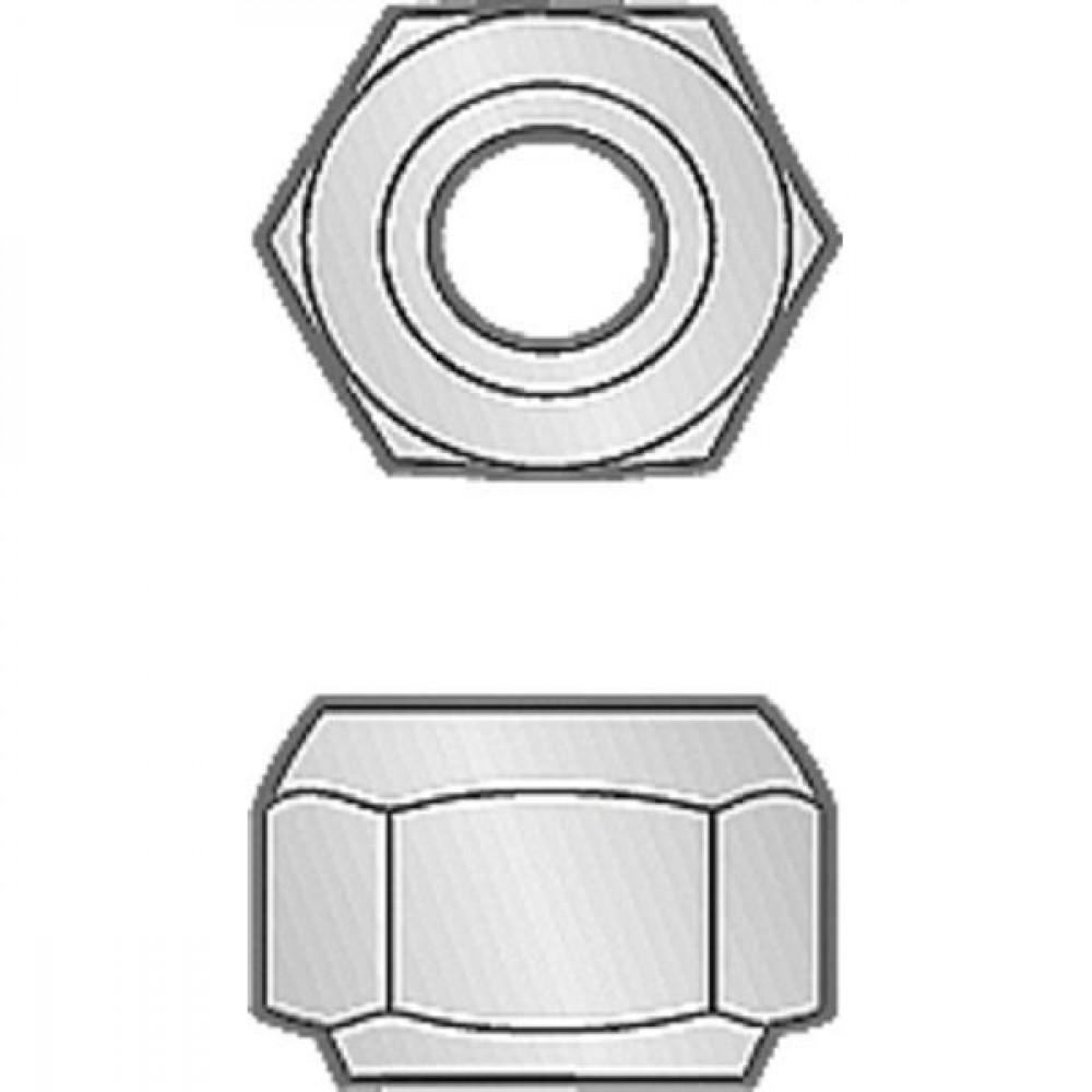Moer con. M20x1,5 SS - KE11501 | M 20 x 1,5 | 19 mm