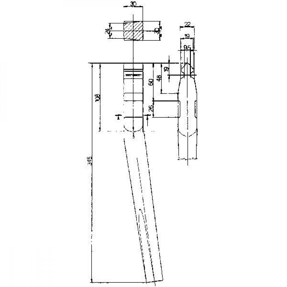 Rotoregtand Sicma - KE1501 | 345 mm
