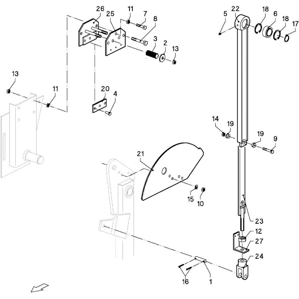 Vicon Bout M12x90 KL8.8 - KG00358261 | M12x90mm, Aant.2 | 80061267