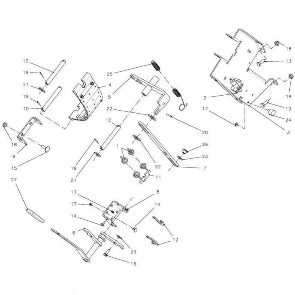 Kverneland Slotbout M6x16 - KG00637061 | Aant.8 | 80030616