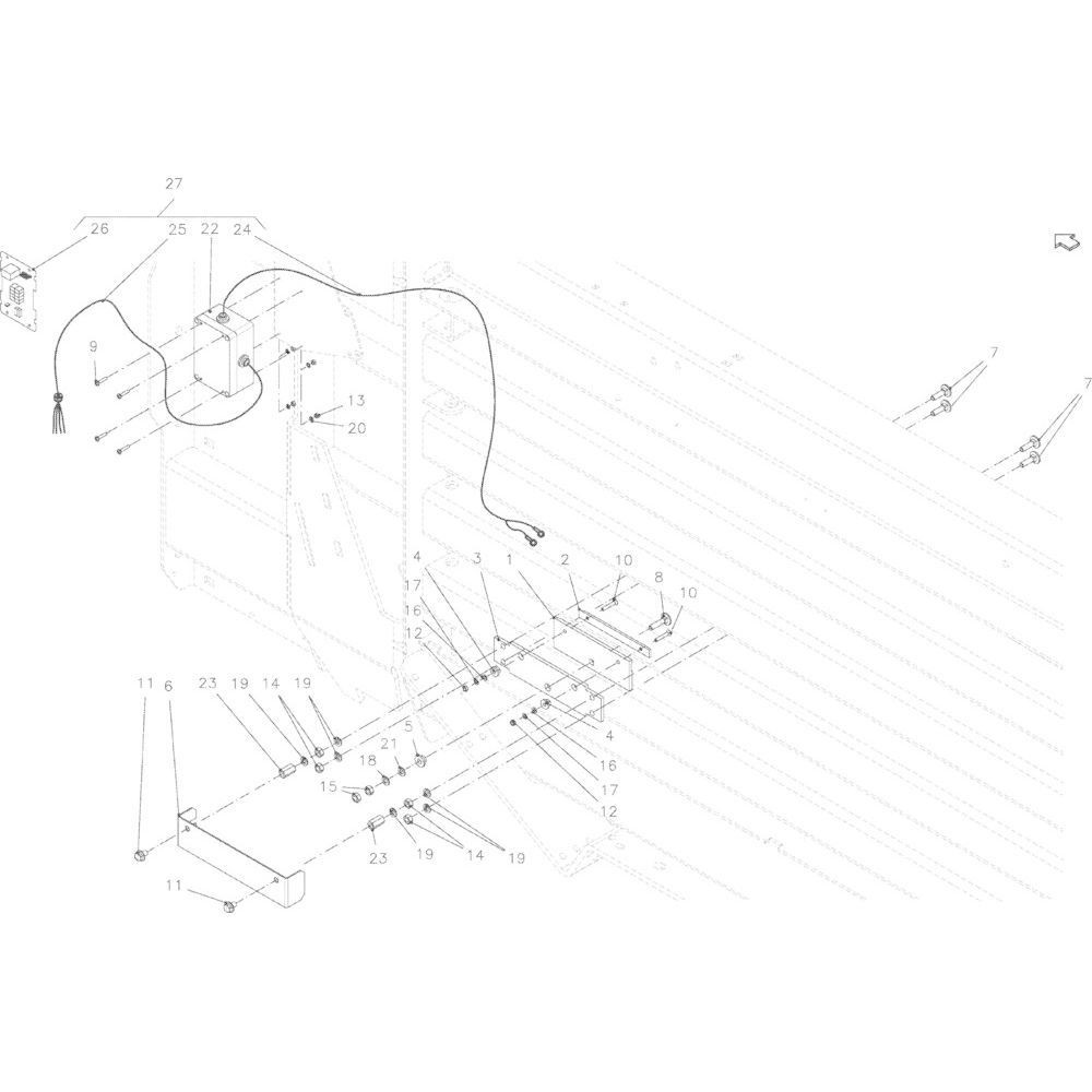 Kverneland Bout M8x12 - KG00981061   Aant.2   80130812