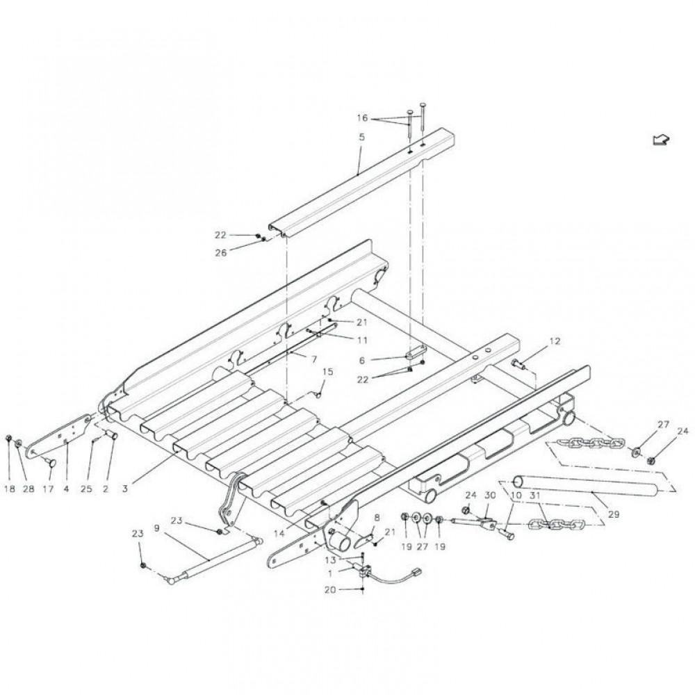 Vicon Borgmoer M16 - KG01069161 | Aant.2 | 80201648