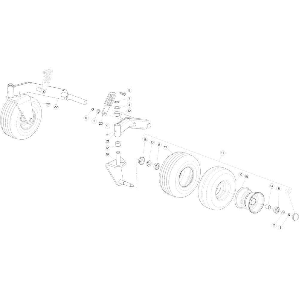 Kverneland Seegerring - KG01099100 | Aant.2 | 80613200