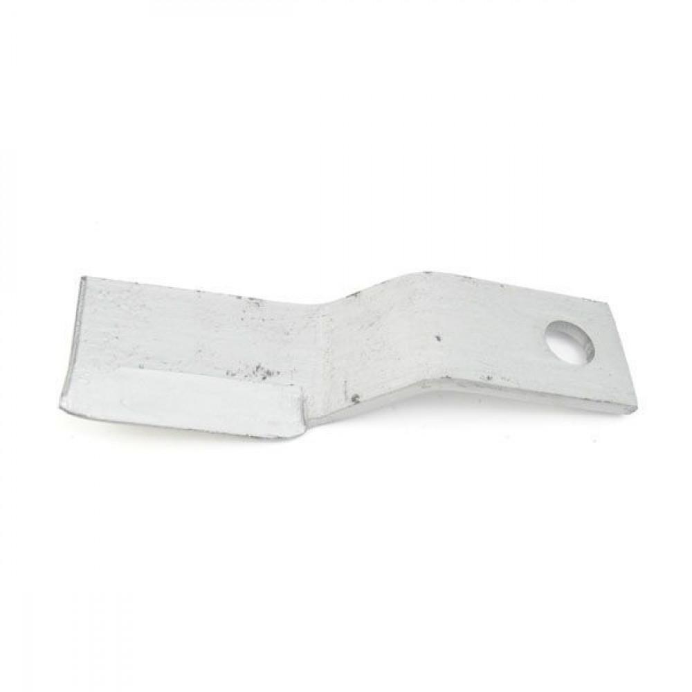 Howard Klepelmes gebogen 75x310 - 706399 | 320 mm | 80 mm | 10 mm | 32 mm
