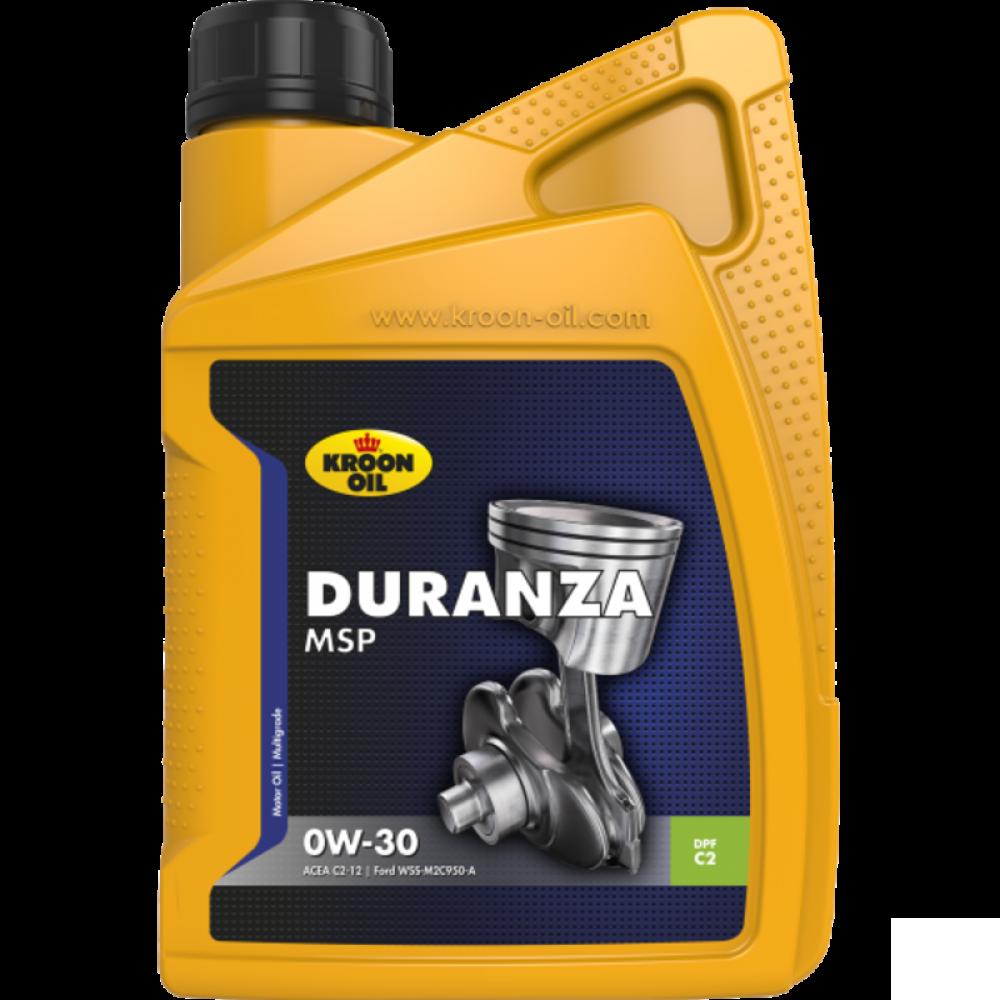 Kroon-Oil Duranza MSP 0W-30 - 32382 | 1 L flacon / bus