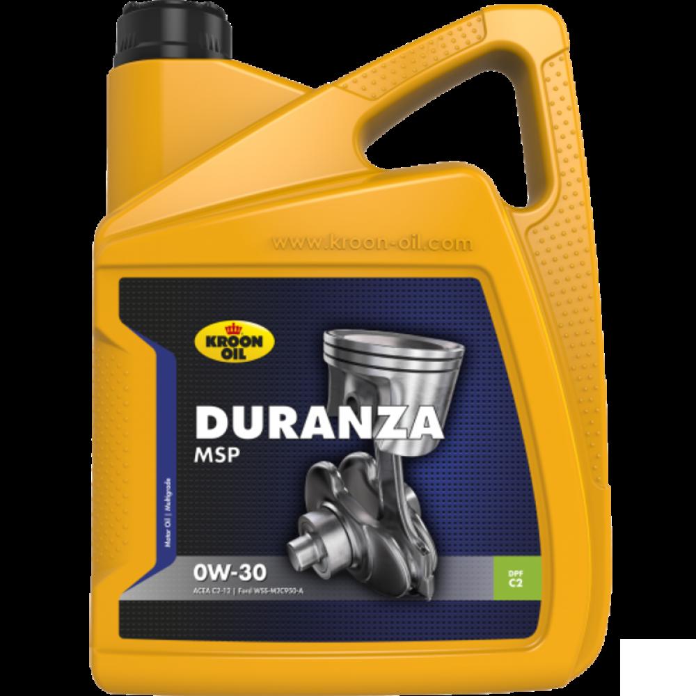 Kroon-Oil Duranza MSP 0W-30 - 32383 | 5 L can / bus