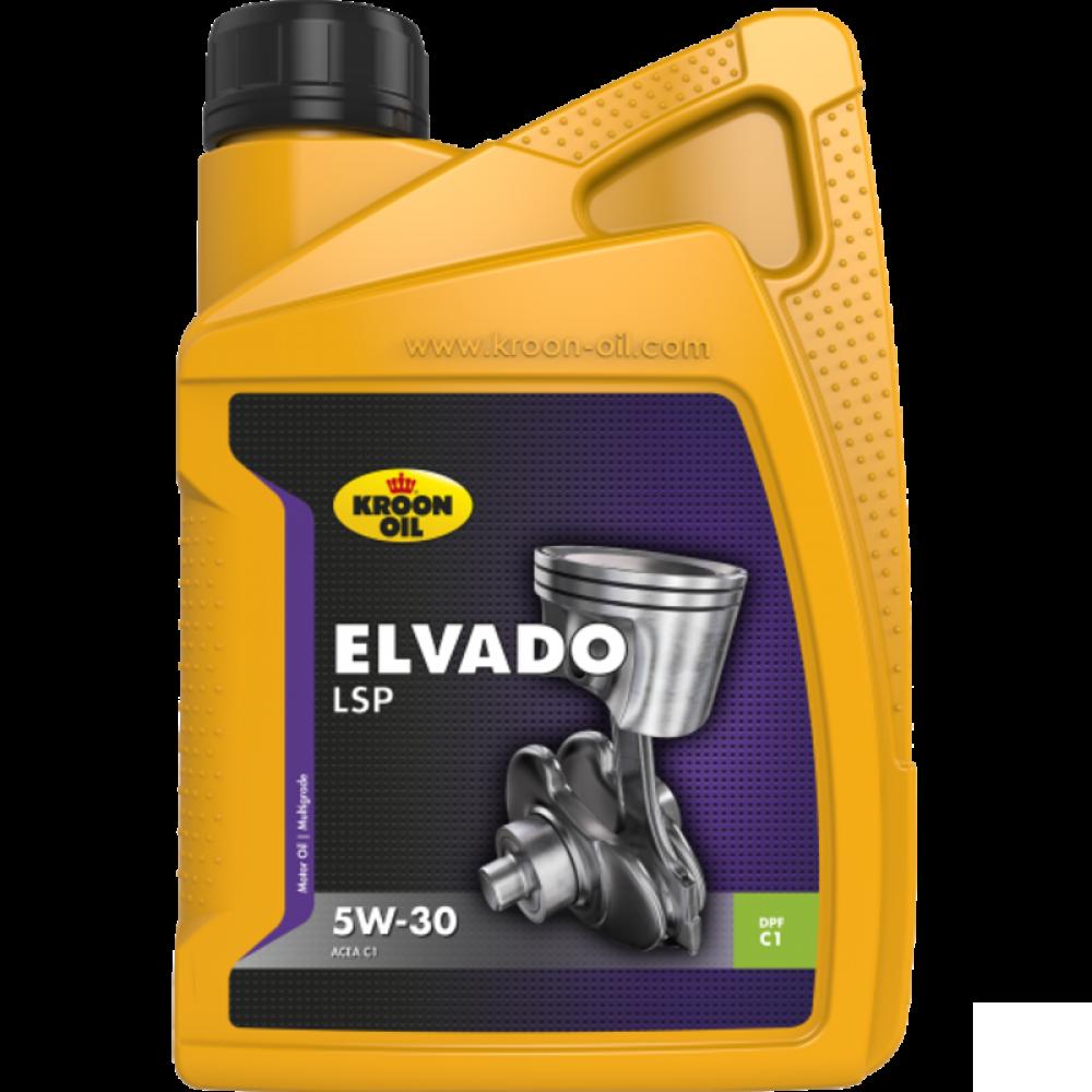 Kroon-Oil Elvado LSP 5W-30 - 33482   1 L flacon / bus