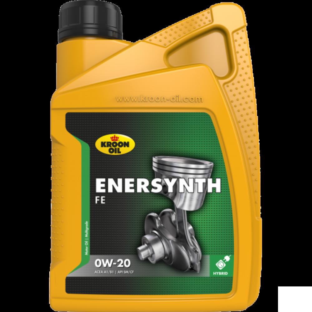 Kroon-Oil Enersynth FE 0W-20 - 34337   1 L flacon / bus; vervangen door presteza MSP 0W-20 KO-36495