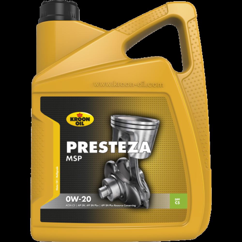 Kroon-Oil Presteza MSP 0W-20 - 36497 | 5 L can / bus