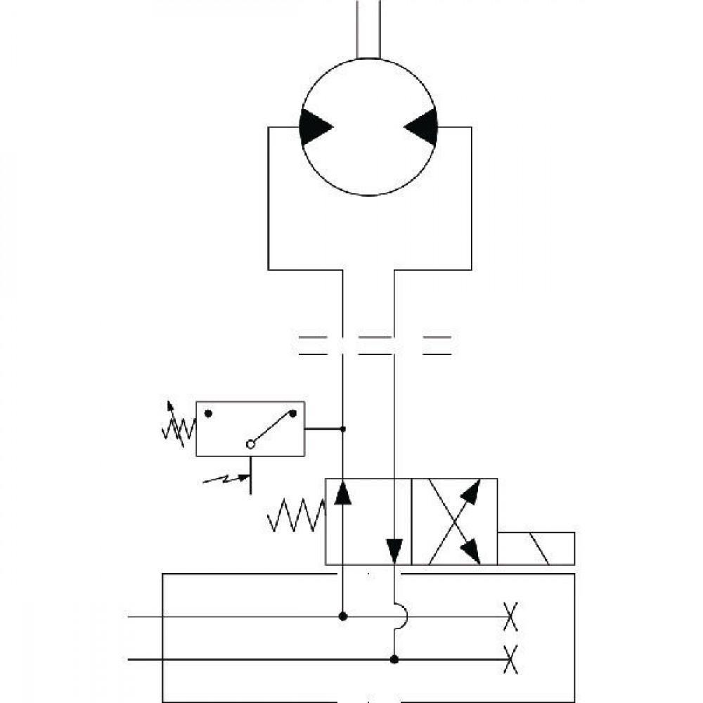 Omkeerventiel bemester KV 11 - KV11MF | Bemesters | 320 bar