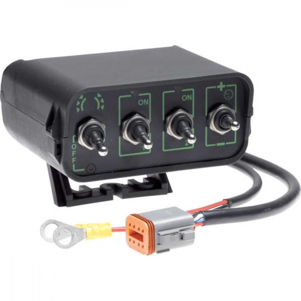 Braglia Regelarmatuur elektr. 2 secties cpl. - M200AH3XX0009 | 40 bar