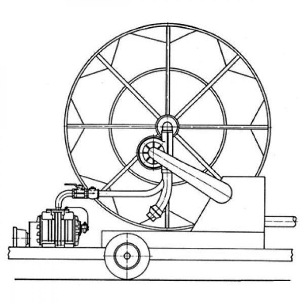 Battioni Pagani Mobiele compressor Std BP - MEC6500MSC | 600 Rpm | 7.000 l/min | 420 m³/h | 24 kW max. druk | 12,5 kW max. vacuum | 285 mm | 252 mm | 156 mm | 2 Inch | 2 1/2 inch | 693 mm | 420 mm | 450 mm | 227 mm | 195 mm | 215 mm | 410 mm | 0,94 bar | 1 1/2 Inch | 1 1/2 Inch | 1 3/8 Inch