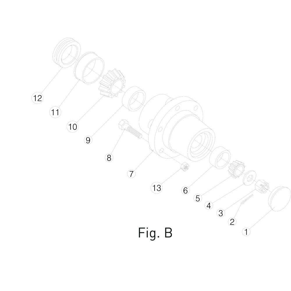 Massey Ferguson Naaf - 0146422403 | Fig.B 7