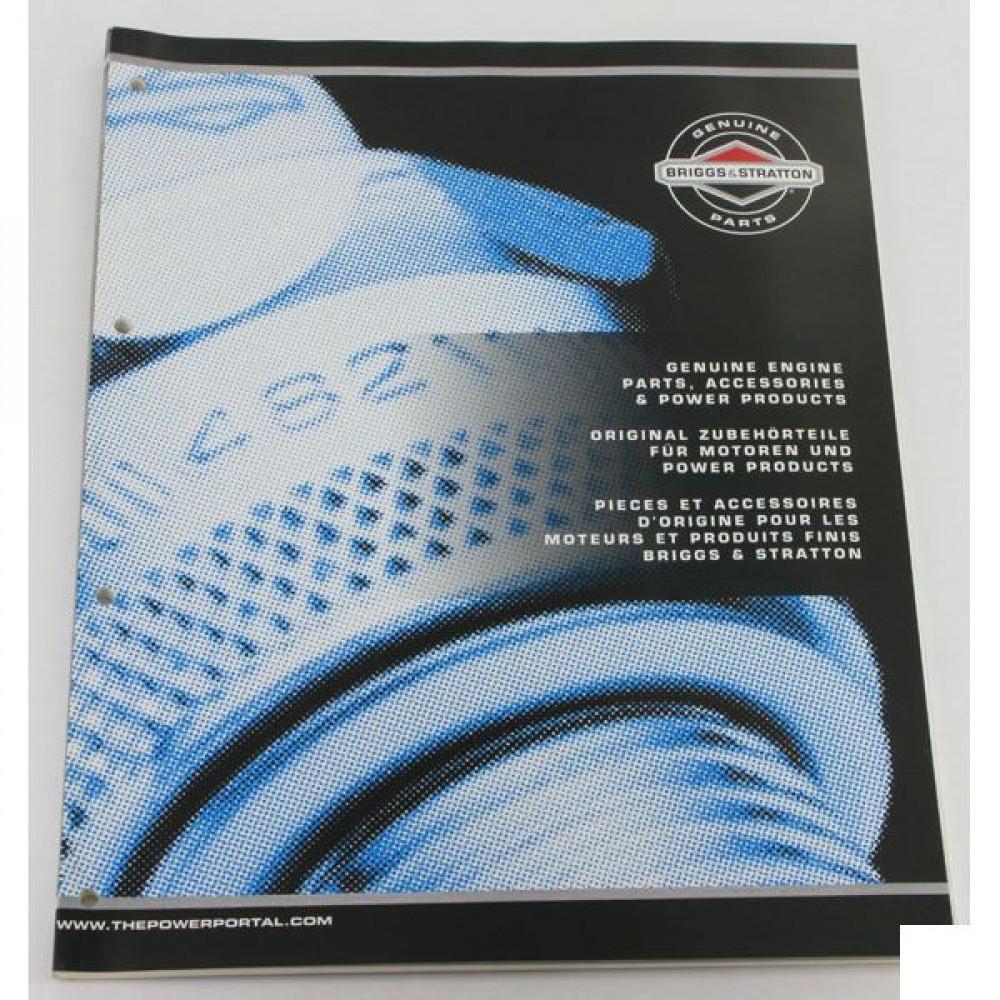 Briggs & Stratton Onderdelenboek B&S 2007 - MS418507 | MS 4185 07