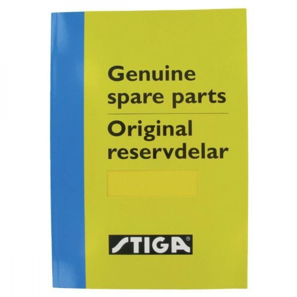 Stiga Onderdelenboek Ride-ons 2011 - 8211340111 | 8211-3401-11