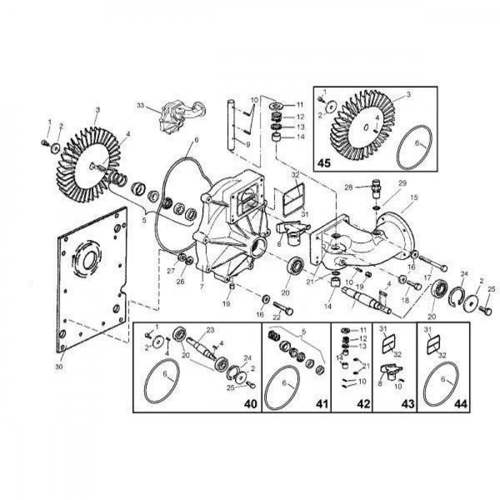 O-ring 20 x 2 10 st. - OR202P010