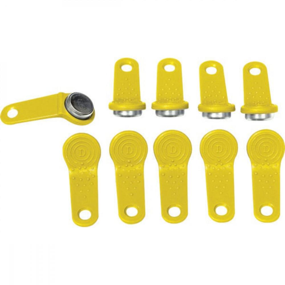 Piusi Gebruikers-sleutel Geel (10x) - R15904000