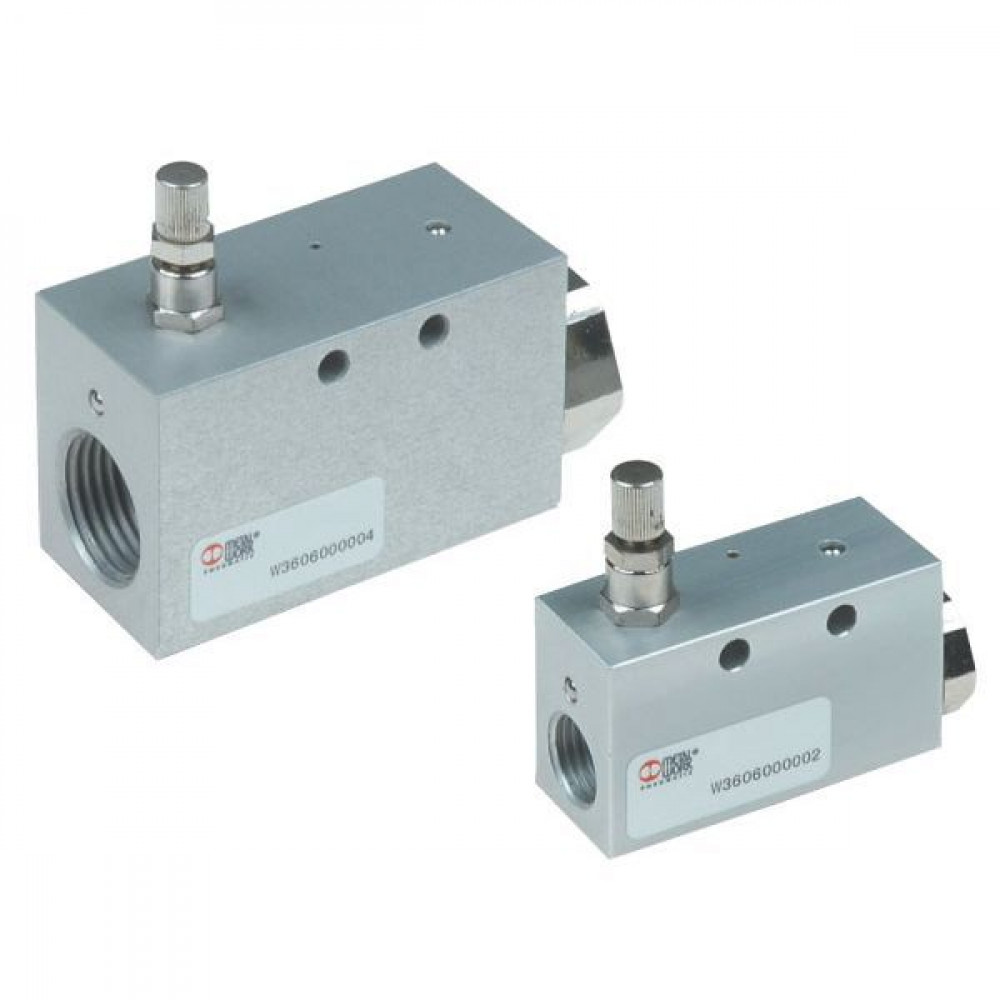 Metal-Work Slow-start ventielen type VAP-. in-line - W3606000002