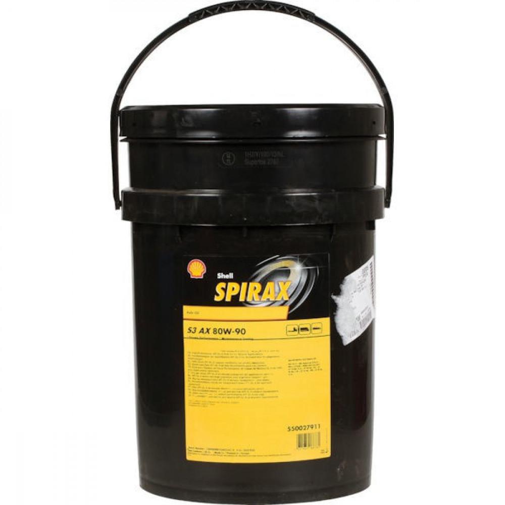 Shell OlieSpirax S3 AX 80W90 kan 20l - SPIRAXS3AX80W9020 | 20 l