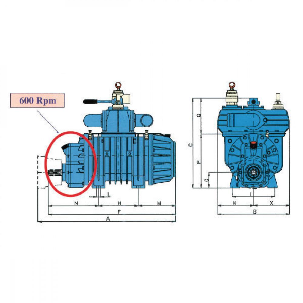 Battioni Pagani Compressor B.P. - STAR84MAVLA | 894 mm | 490 mm | 540 mm | 100 mm | 865 mm | 14800 l/min | 263 kg | 245 mm | 247 mm | 351 mm | 1.5 bar | 220 mm | 269 mm | 326 mm | 220 mm | 214 mm | 0,9 bar | 37 kW kilowatt | 1 3/8 Inch | 1 1/2 Inch | 2 Inch