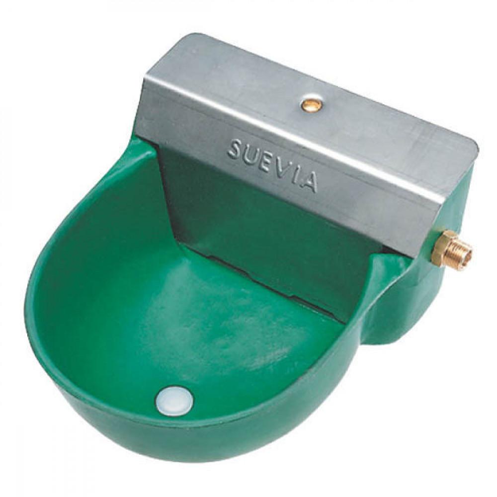 Suevia Drinkbak mod. 130P - SU1000130   Voor runderen en paarden   1/2 Inch   Kunststof   Rundvee en paarden