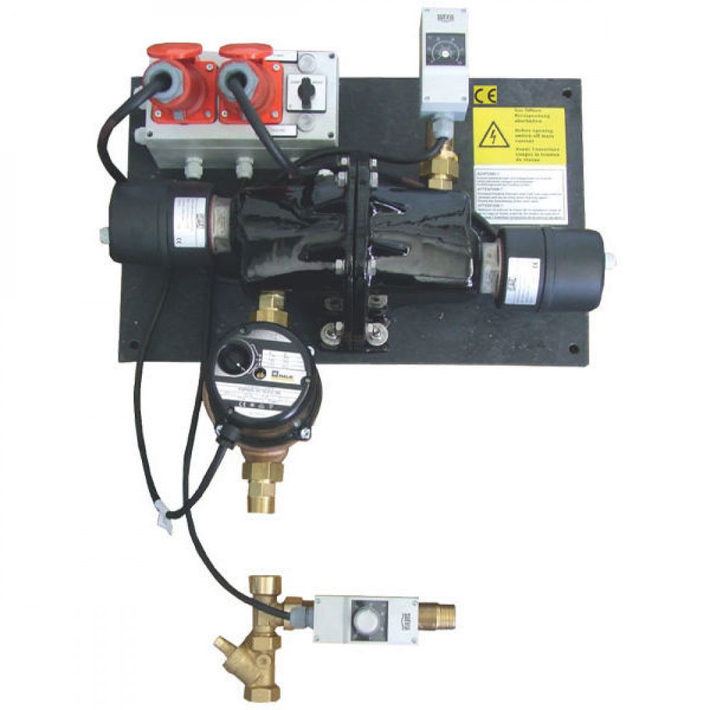 Suevia Verwarmer mod. 312 - SU1010312 | Veilig | 6.000 kW | 3/4 Inch