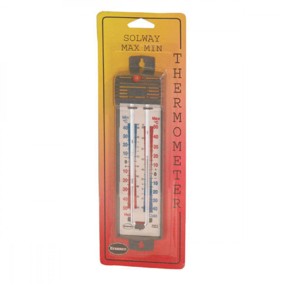 Thermometer max-min dubbelschaals - TO2452