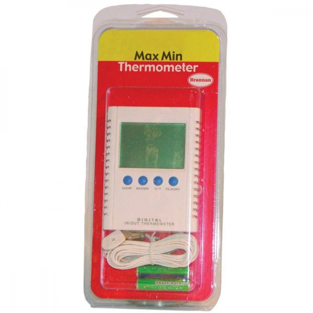 Thermometer, digitaal min/max - TO2456