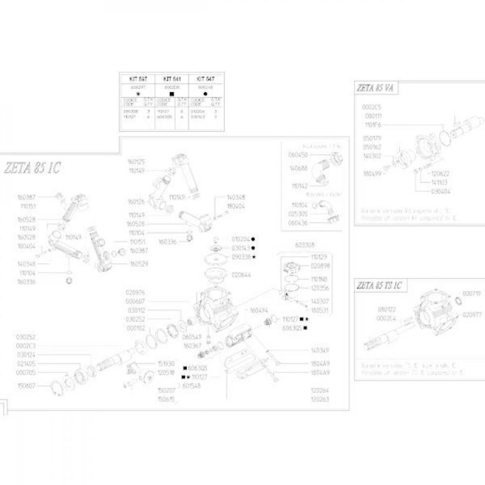 UDOR Membraan KAPPA/ZETA D10 - UD090313 | Rubber