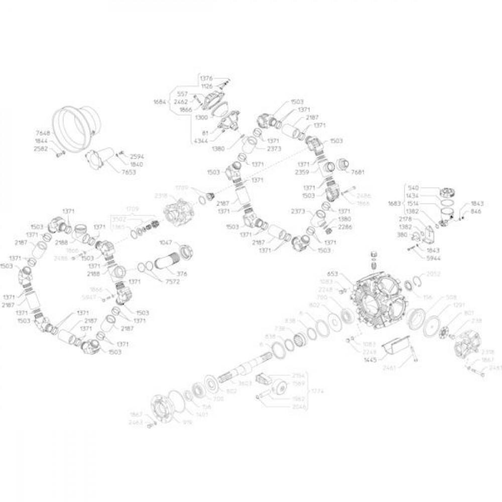 """UDOR Kop """"RO 100…250"""", rood - UD160436"""