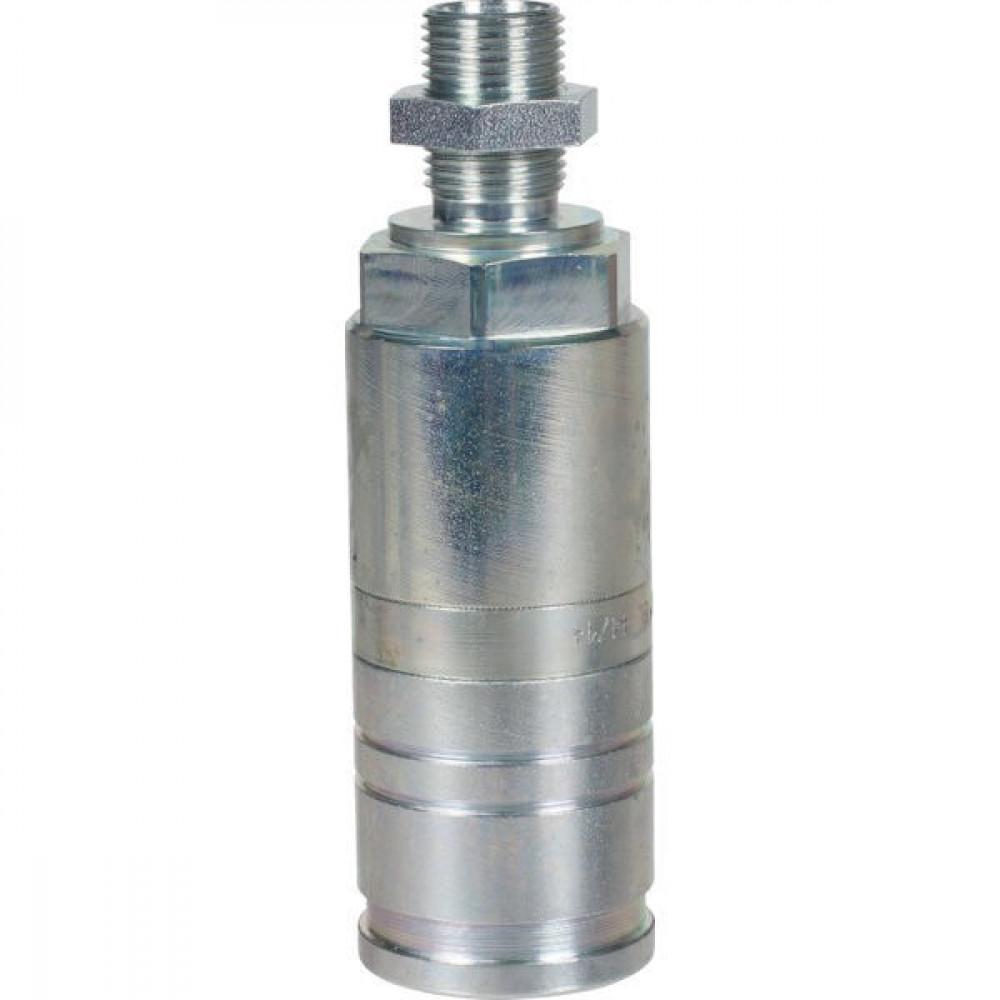 Voswinkel Koppelhuis M18x1.5-12L schot - UX101N1218L | UX10-1-N1218L | NBR / PTFE | Wit gepassiveerd | Faster 3CFPV...F | M18 x 1,5 A | 38 mm | 121.5 mm | ISO 7241-1-A | 250 bar