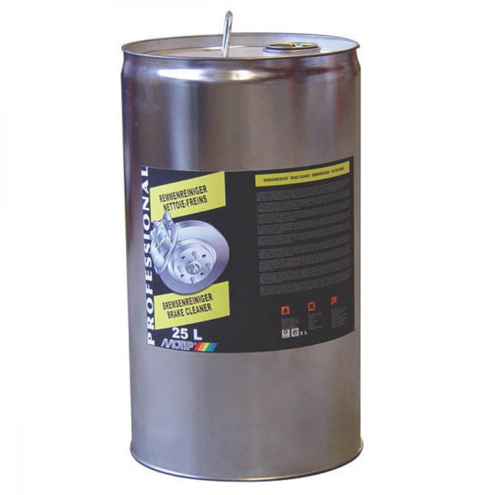 "Motip Remmenreiniger 25 l - V25563   2"" uitloop   Hoog oplossend vermogen   Goede reiniging   25000 ml"