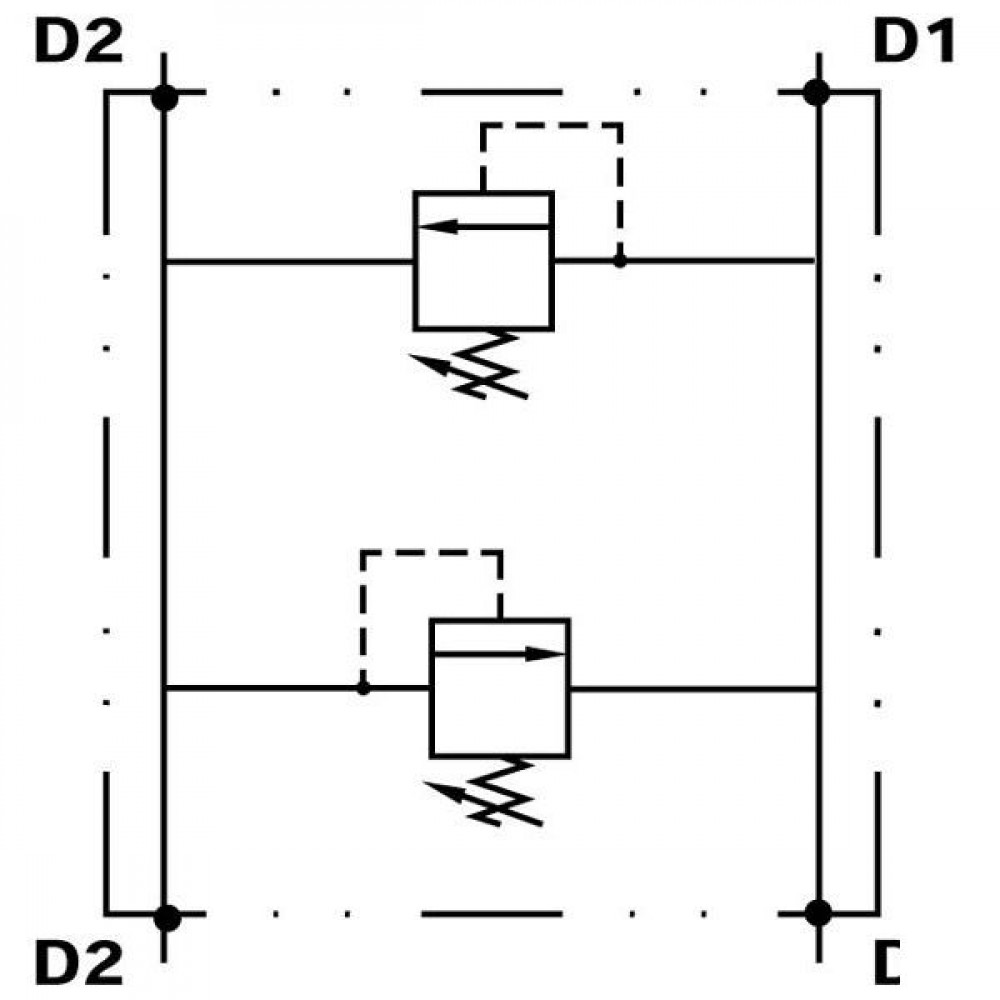 Walvoil Drukregelventiel staal - VAIL10001ST | Inbusschroef | 8,5 mm | 50 l/min | 180 350 bar