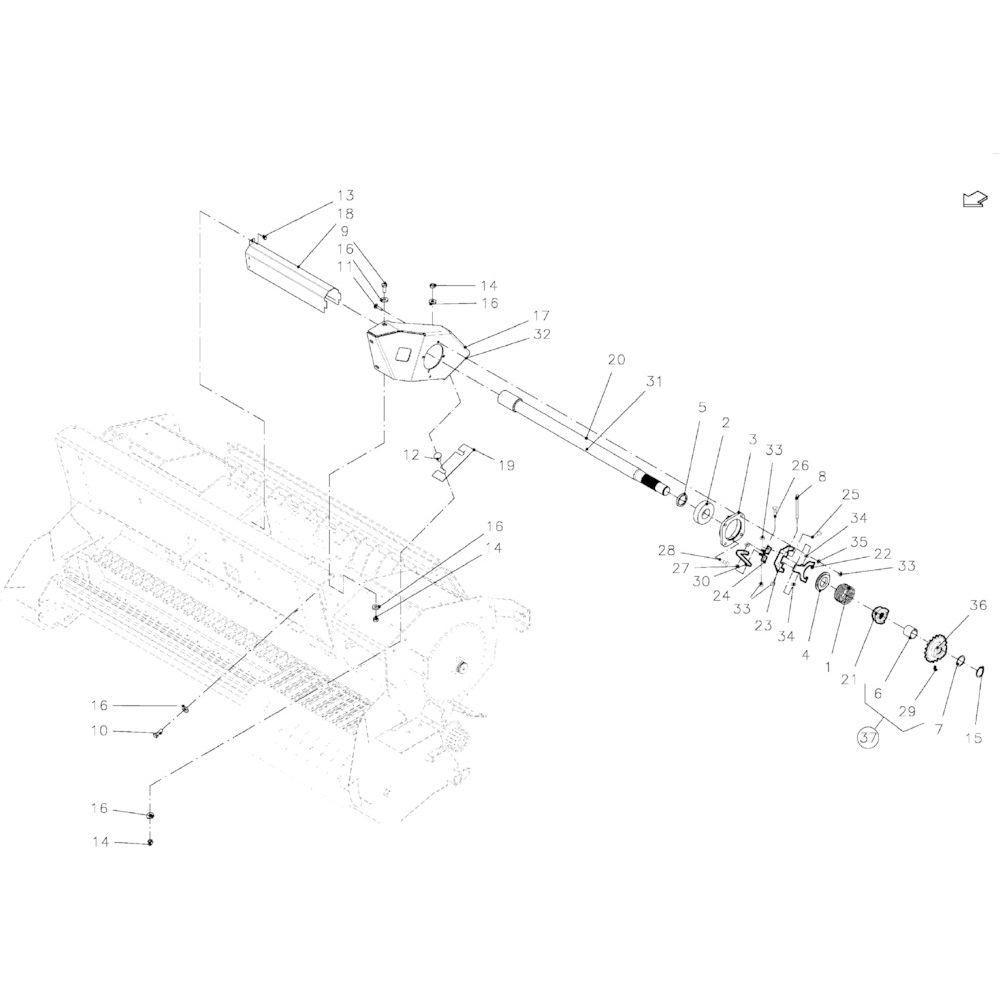 DEUTZ-FAHR Sluitring - VF01143103   Aant.1   80250823