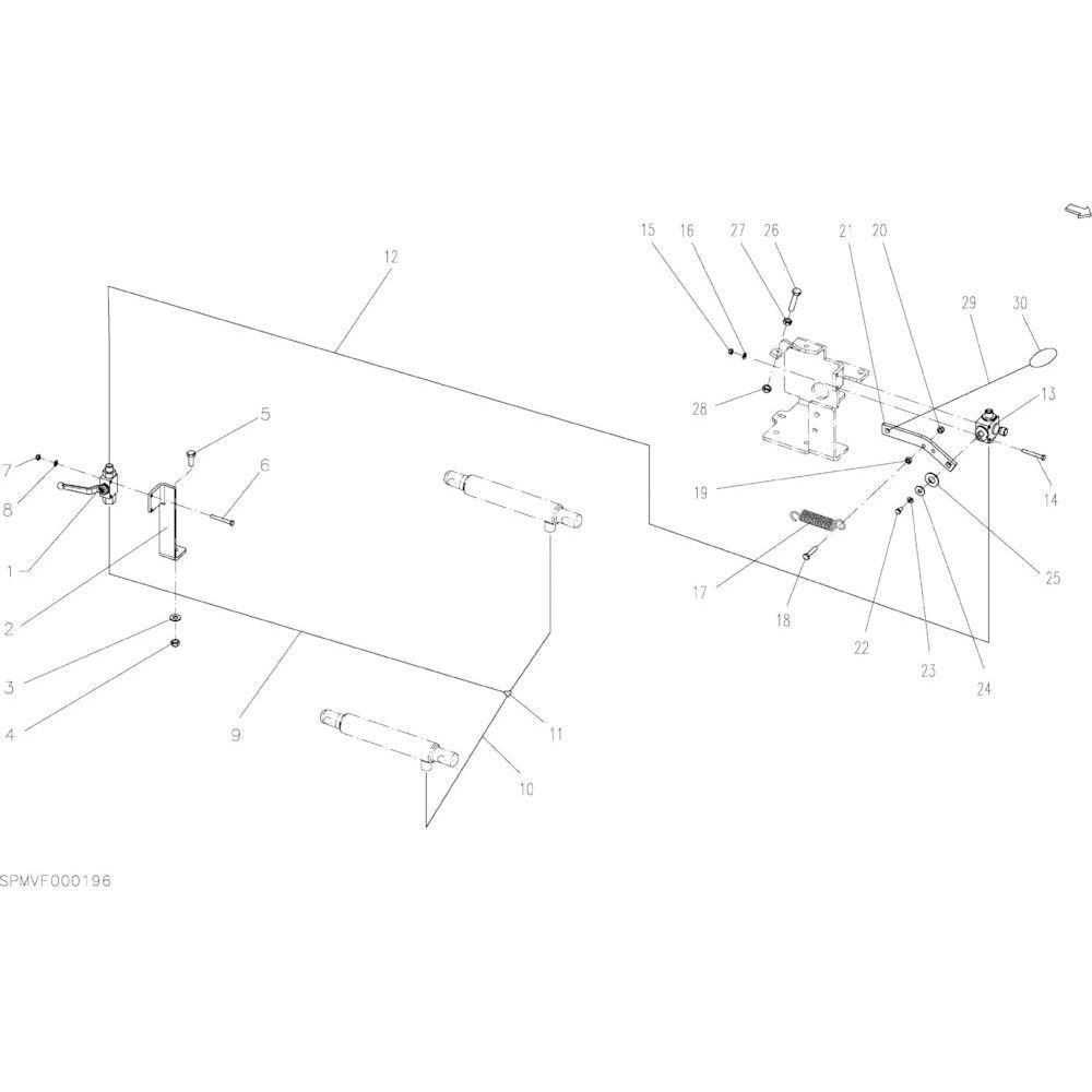 DEUTZ-FAHR Sluitring - VF06214269   Aant.2   80251225