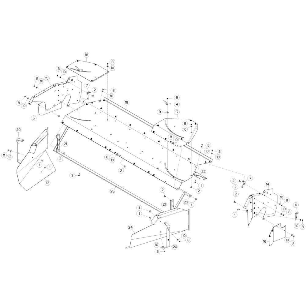 DEUTZ-FAHR Lager - VF16614109   Aant.001   Z4000100