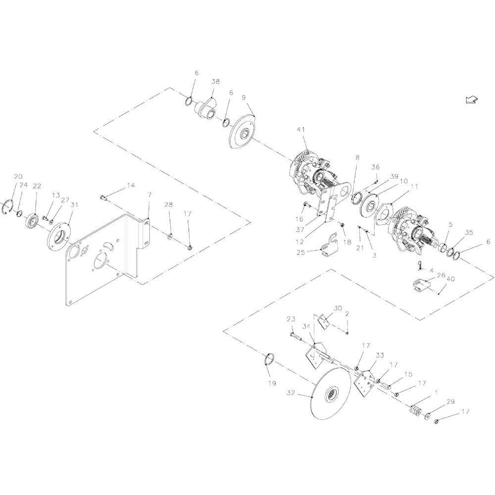 Kverneland Knoopapparaat - VGGP001 | Aant.1 | Z5000330