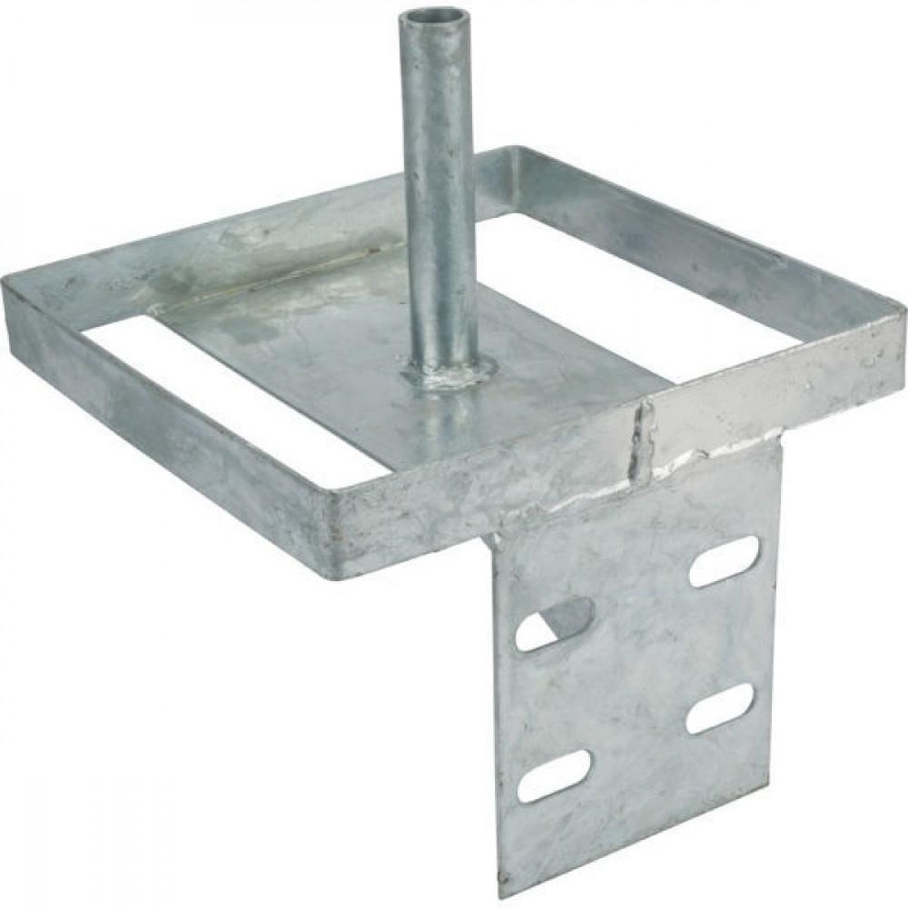 Metalen sokkel v. zoutliksteen - VV32472