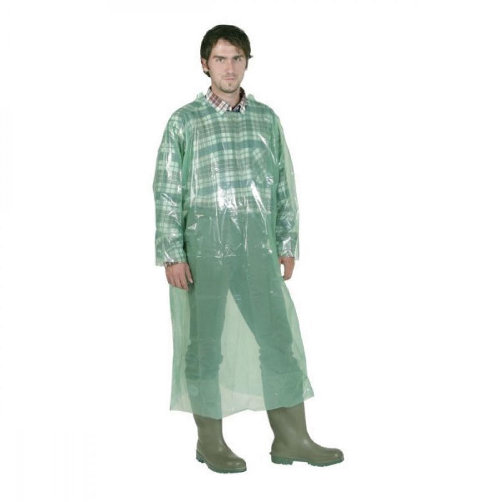 Wegwerpoverall groen 20 stuks - VV3427 | 20 stuks/verpakking | 135 cm
