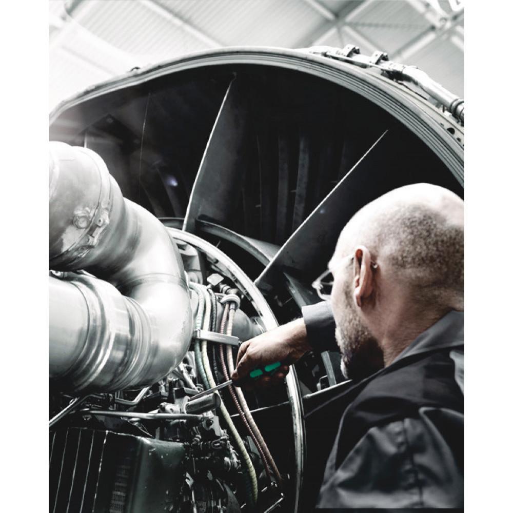 Wera 335 Zaagsnede Schroevendraaier, Electriciën Kling, 1 x 5.5 x 150 mm - 05008055001