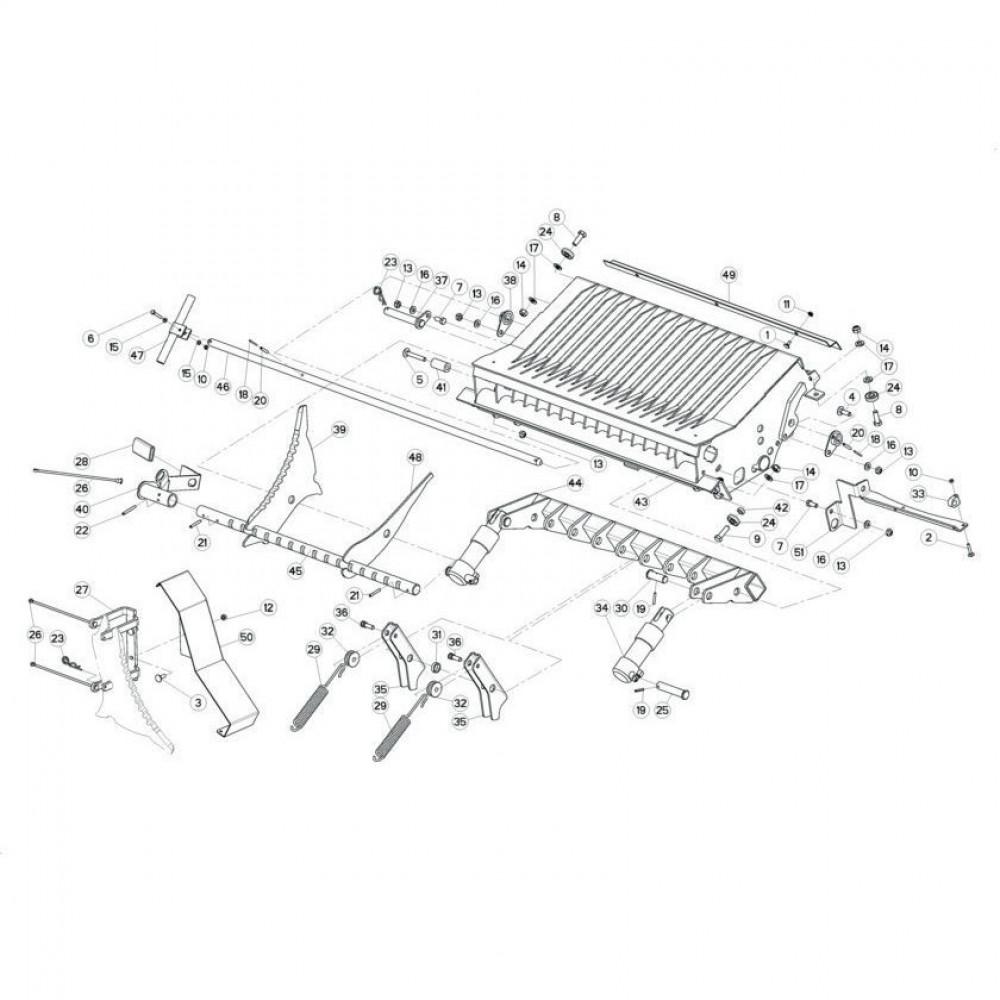 Kuhn Afdichtingsset voor cilinder - Z4509160 | Aant.1