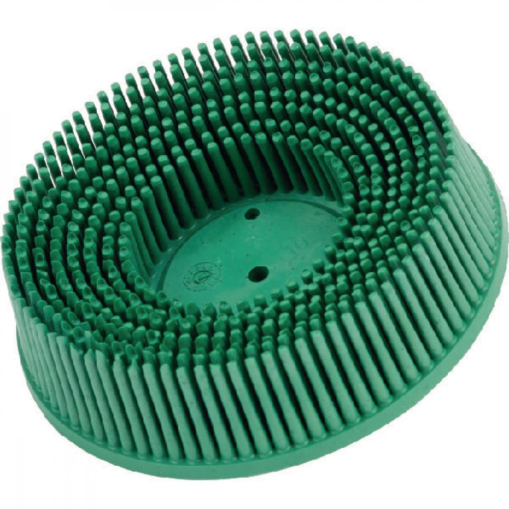 Green 3M 07526 Roloc Bristle Disc