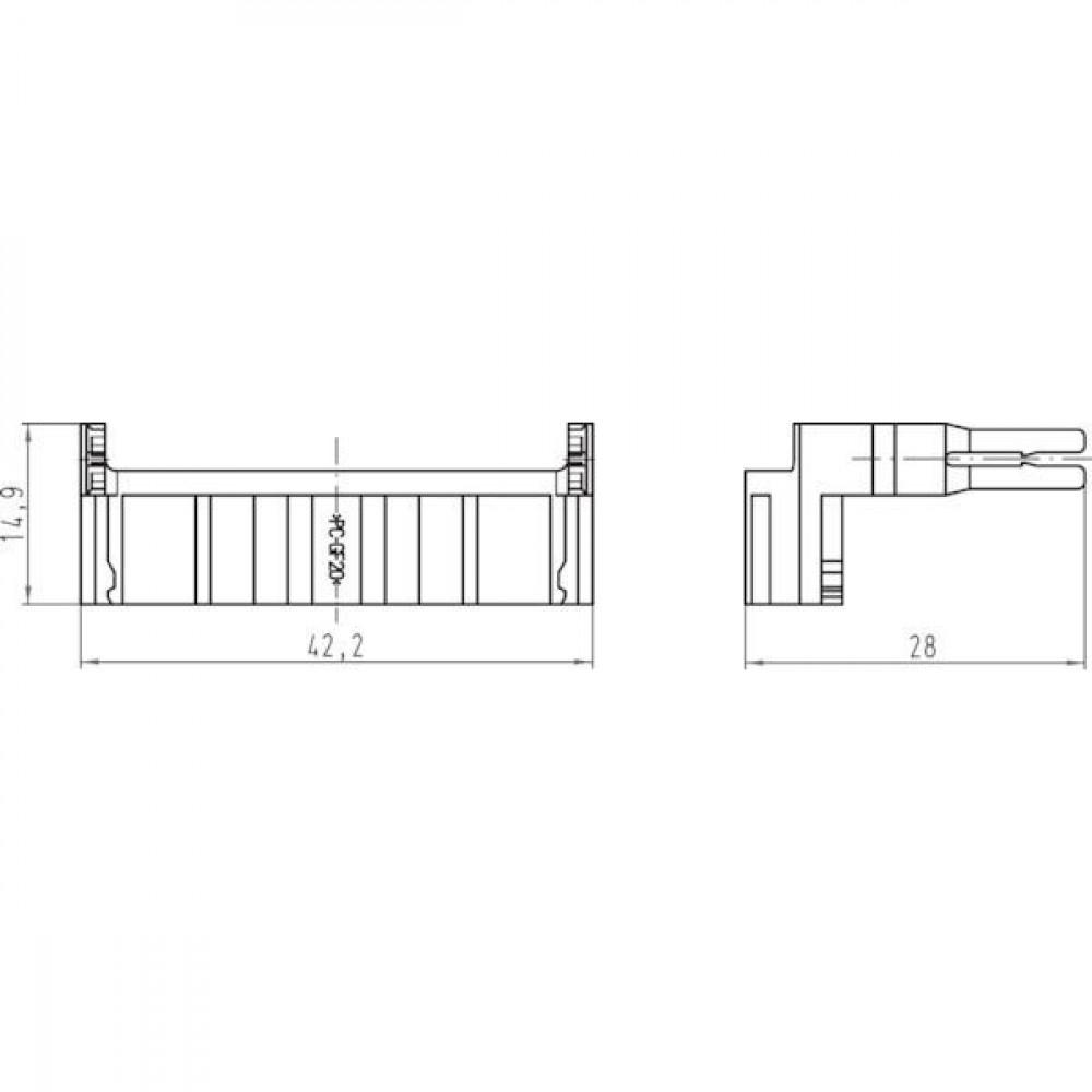 Harting Demontage gereedschap Han-Yellock® - 11990000001